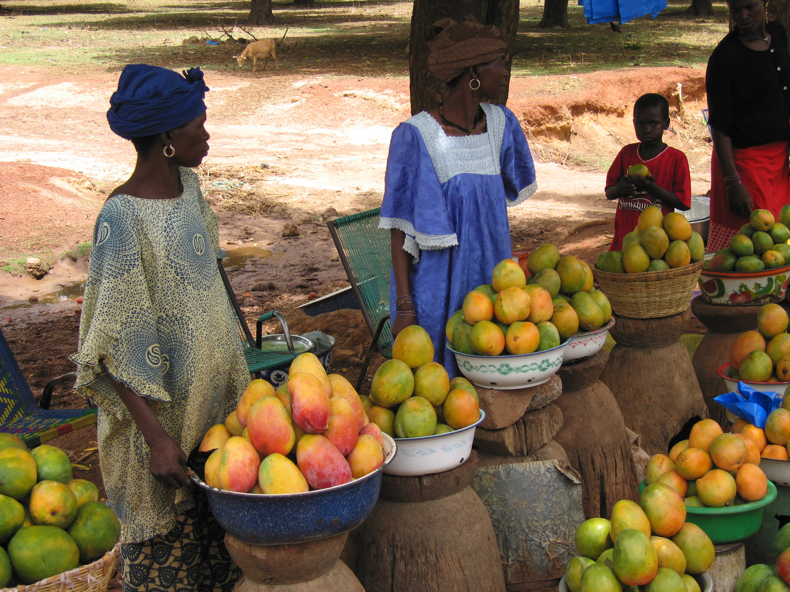 Women selling fruits. The pandemic has also deepened inequality and projected growth does not promise a better life. www.theexchange.africa